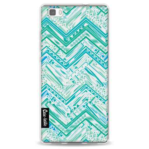 Casetastic Softcover Huawei P8 Lite - Mint Tribal