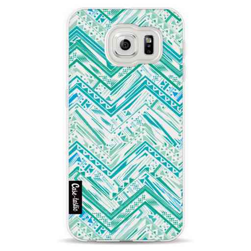 Casetastic Softcover Samsung Galaxy S6  - Mint Tribal