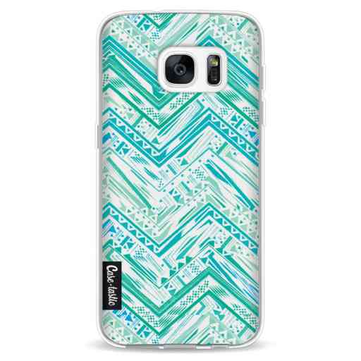 Casetastic Softcover Samsung Galaxy S7 - Mint Tribal