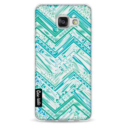 Casetastic Softcover Samsung Galaxy A3 (2016) - Mint Tribal