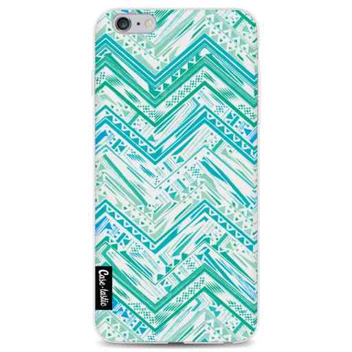 Casetastic Softcover Apple iPhone 6 Plus / 6s Plus - Mint Tribal