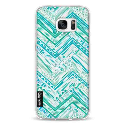 Casetastic Softcover Samsung Galaxy S7 Edge - Mint Tribal