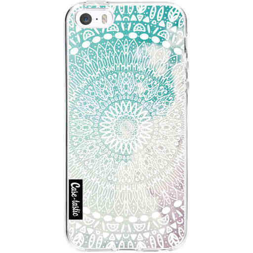 Casetastic Softcover Apple iPhone 5 / 5s / SE - Rainbow Mandala