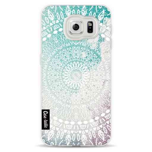 Casetastic Softcover Samsung Galaxy S6  - Rainbow Mandala