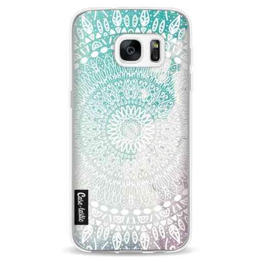 Casetastic Softcover Samsung Galaxy S7 - Rainbow Mandala