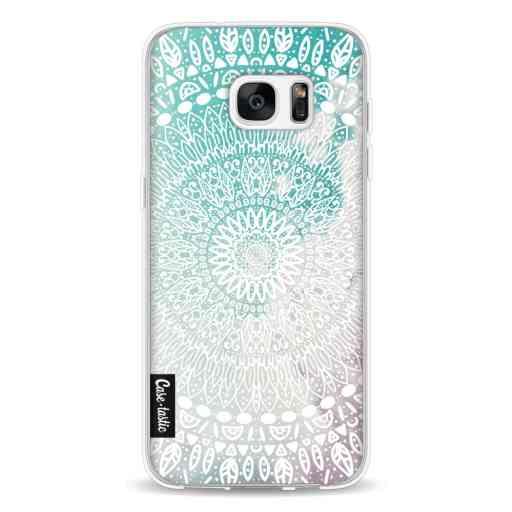 Casetastic Softcover Samsung Galaxy S7 Edge - Rainbow Mandala