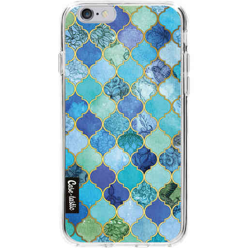Casetastic Softcover Apple iPhone 6 / 6s  - Aqua Moroccan Tiles