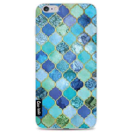 Casetastic Softcover Apple iPhone 6 Plus / 6s Plus - Aqua Moroccan Tiles