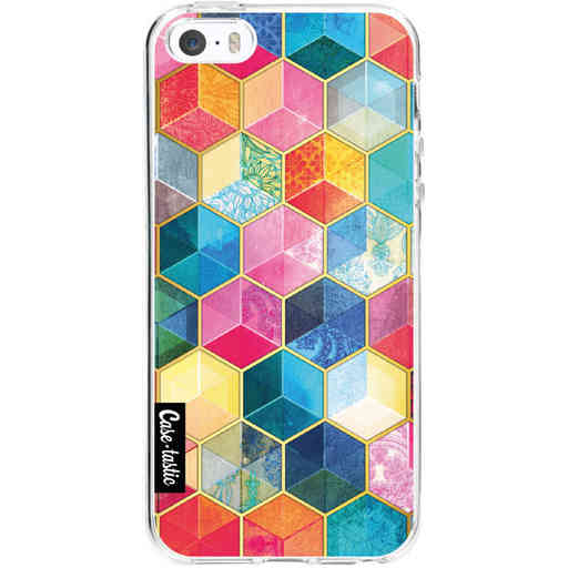 Casetastic Softcover Apple iPhone 5 / 5s / SE - Bohemian Honeycomb