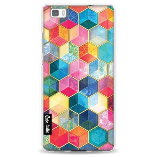 Casetastic Softcover Huawei P8 Lite - Bohemian Honeycomb