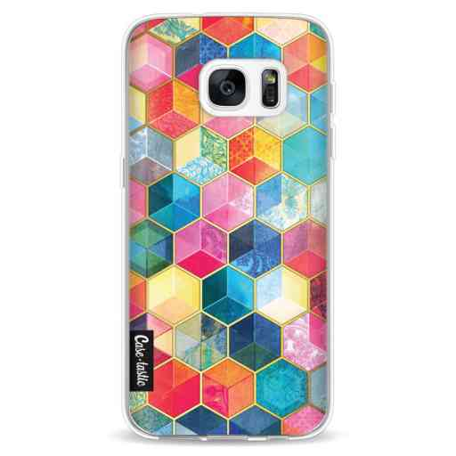 Casetastic Softcover Samsung Galaxy S7 - Bohemian Honeycomb