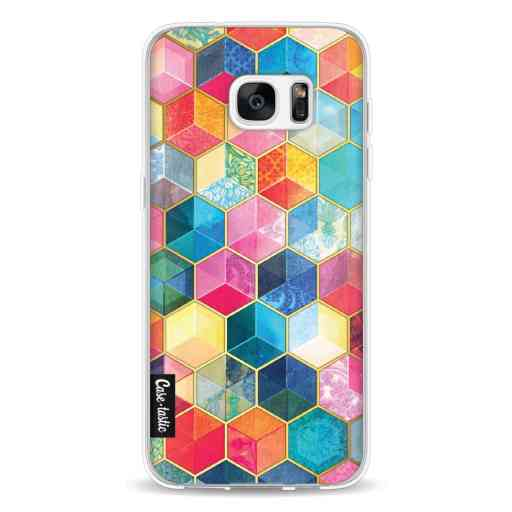 Casetastic Softcover Samsung Galaxy S7 Edge - Bohemian Honeycomb