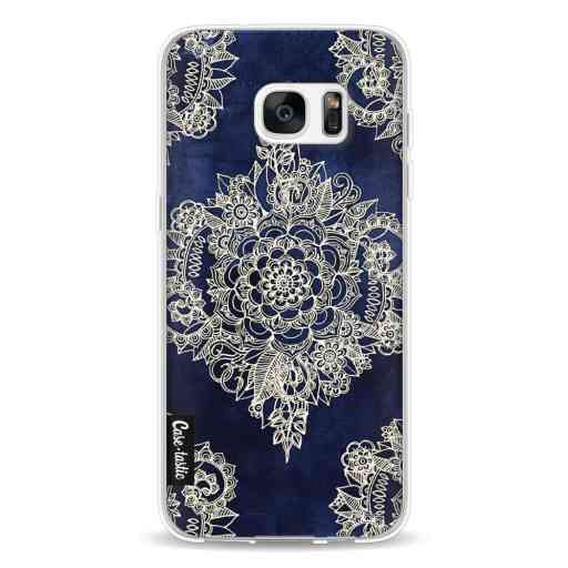 Casetastic Softcover Samsung Galaxy S7 Edge - Deep Indigo Ink