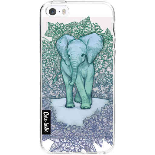 Casetastic Softcover Apple iPhone 5 / 5s / SE - Emerald Elephant