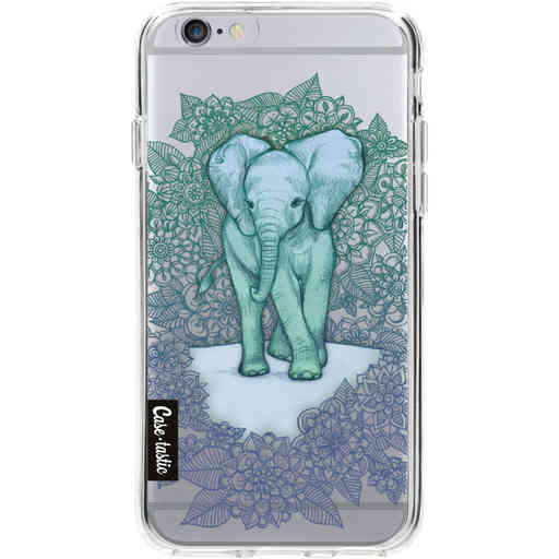 Casetastic Softcover Apple iPhone 6 / 6s  - Emerald Elephant