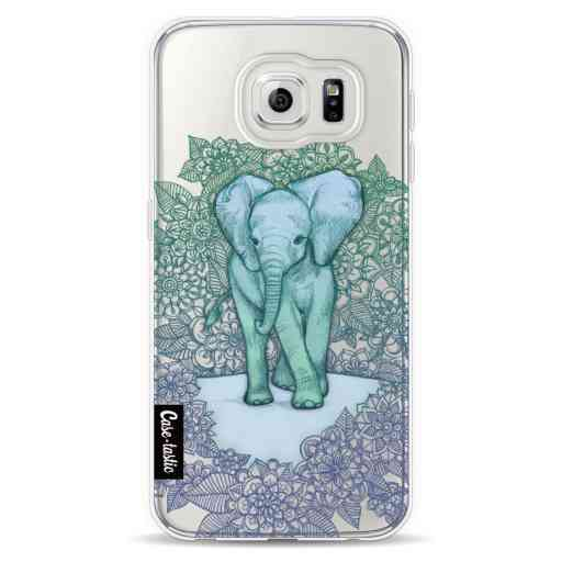 Casetastic Softcover Samsung Galaxy S6  - Emerald Elephant