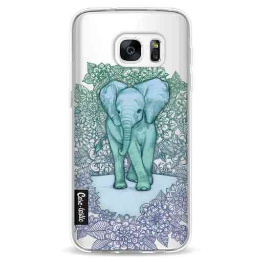 Casetastic Softcover Samsung Galaxy S7 - Emerald Elephant