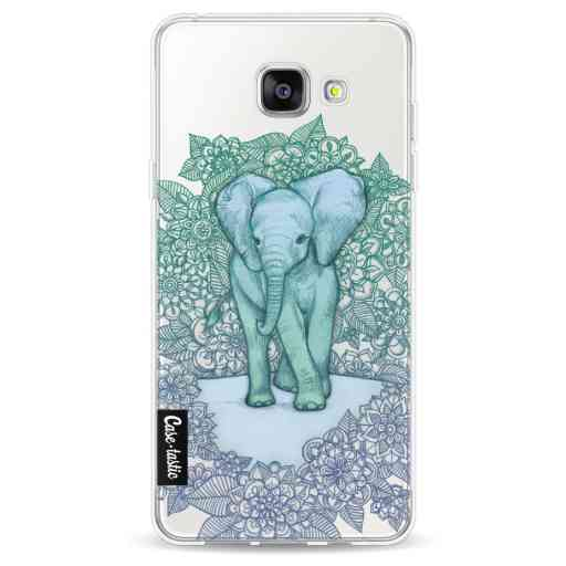Casetastic Softcover Samsung Galaxy A5 (2016) - Emerald Elephant