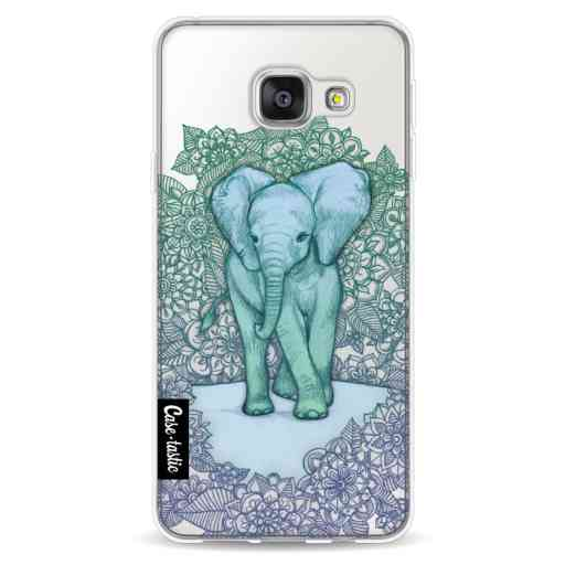 Casetastic Softcover Samsung Galaxy A3 (2016) - Emerald Elephant
