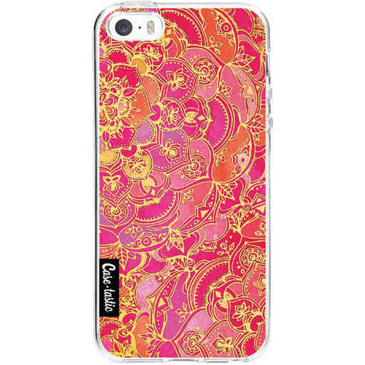 Casetastic Softcover Apple iPhone 5 / 5s / SE - Hot Pink Barroque