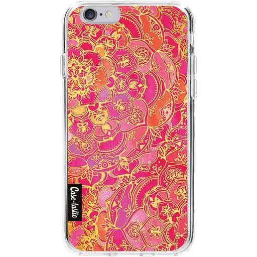 Casetastic Softcover Apple iPhone 6 / 6s  - Hot Pink Barroque
