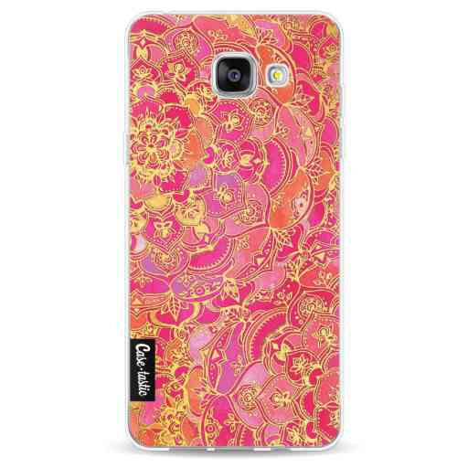Casetastic Softcover Samsung Galaxy A5 (2016) - Hot Pink Barroque
