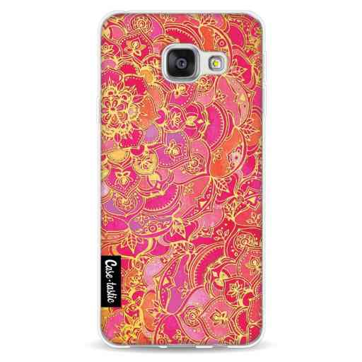 Casetastic Softcover Samsung Galaxy A3 (2016) - Hot Pink Barroque