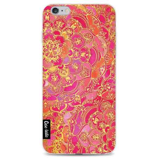 Casetastic Softcover Apple iPhone 6 Plus / 6s Plus - Hot Pink Barroque