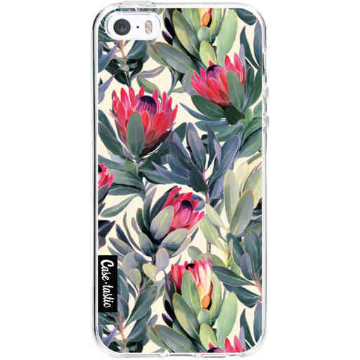Casetastic Softcover Apple iPhone 5 / 5s / SE - Painted Protea