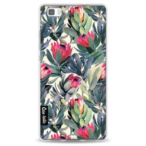 Casetastic Softcover Huawei P8 Lite - Painted Protea