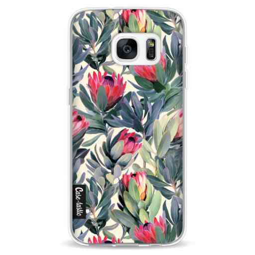 Casetastic Softcover Samsung Galaxy S7 - Painted Protea