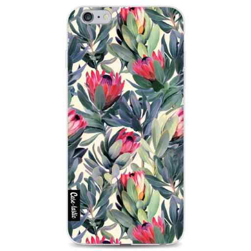 Casetastic Softcover Apple iPhone 6 Plus / 6s Plus - Painted Protea