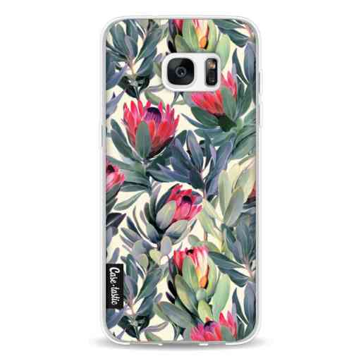 Casetastic Softcover Samsung Galaxy S7 Edge - Painted Protea