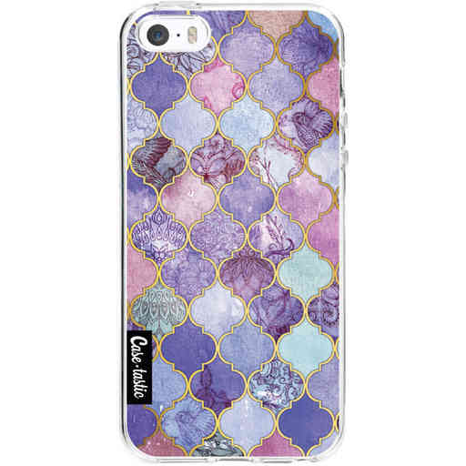 Casetastic Softcover Apple iPhone 5 / 5s / SE - Purple Moroccan Tiles