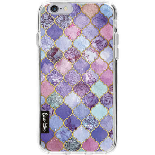 Casetastic Softcover Apple iPhone 6 / 6s  - Purple Moroccan Tiles