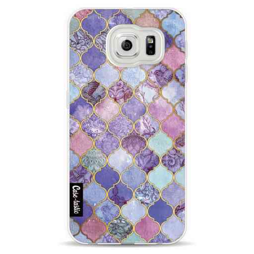 Casetastic Softcover Samsung Galaxy S6  - Purple Moroccan Tiles