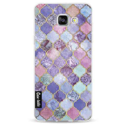 Casetastic Softcover Samsung Galaxy A5 (2016) - Purple Moroccan Tiles