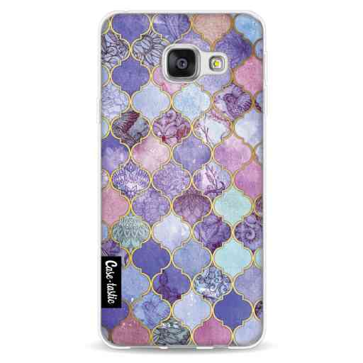 Casetastic Softcover Samsung Galaxy A3 (2016) - Purple Moroccan Tiles