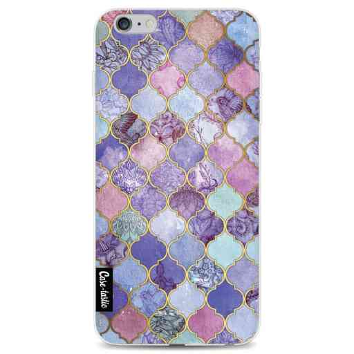 Casetastic Softcover Apple iPhone 6 Plus / 6s Plus - Purple Moroccan Tiles