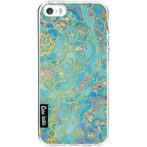 Casetastic Softcover Apple iPhone 5 / 5s / SE - Sapphire Mandala