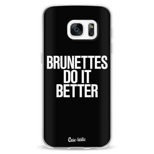 Casetastic Softcover Samsung Galaxy S7 - Brunettes Do It Better