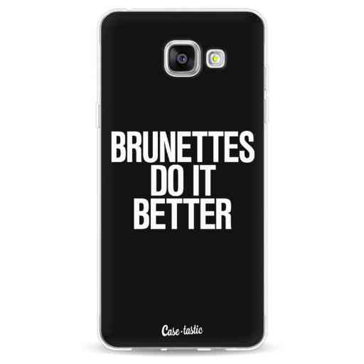 Casetastic Softcover Samsung Galaxy A5 (2016) - Brunettes Do It Better