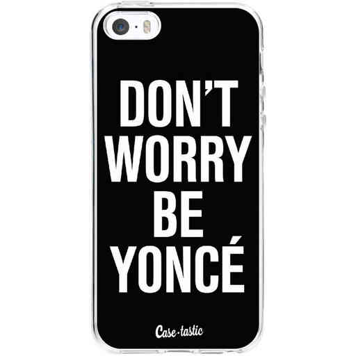 Casetastic Softcover Apple iPhone 5 / 5s / SE - Don't Worry Beyoncé