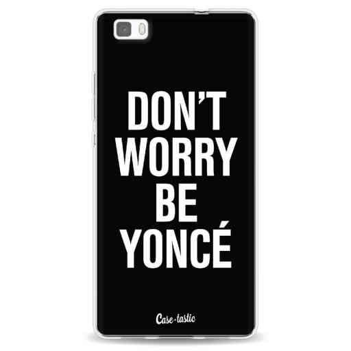 Casetastic Softcover Huawei P8 Lite - Don't Worry Beyoncé