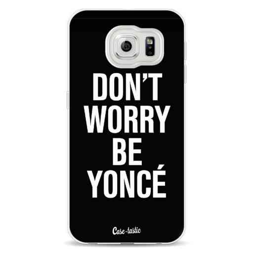 Casetastic Softcover Samsung Galaxy S6  - Don't Worry Beyoncé