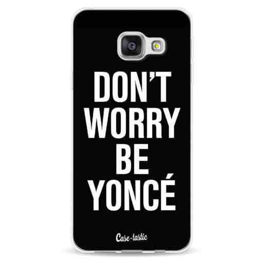 Casetastic Softcover Samsung Galaxy A3 (2016) - Don't Worry Beyoncé