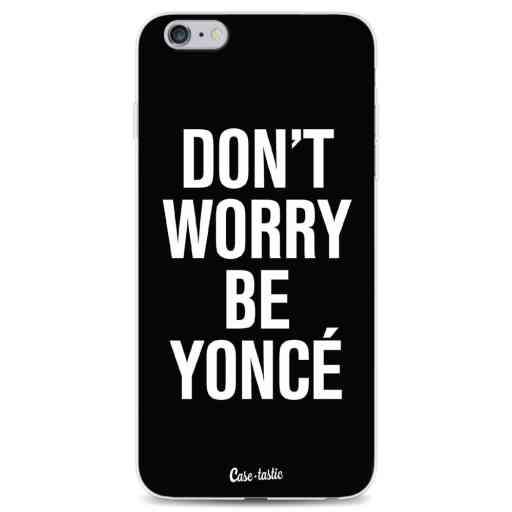 Casetastic Softcover Apple iPhone 6 Plus / 6s Plus - Don't Worry Beyoncé