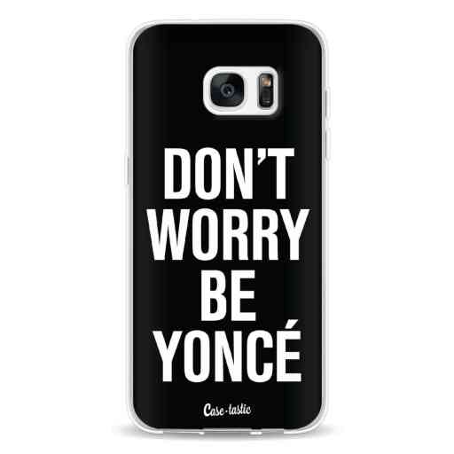 Casetastic Softcover Samsung Galaxy S7 Edge - Don't Worry Beyoncé