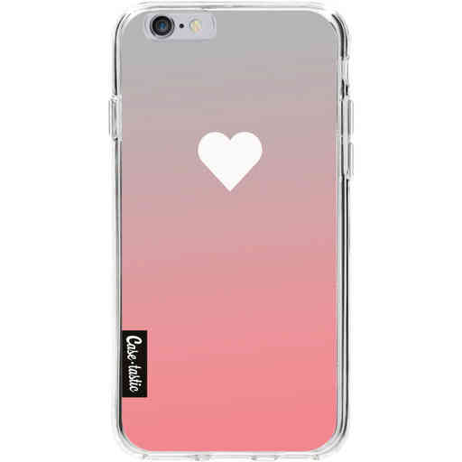 Casetastic Softcover Apple iPhone 6 / 6s  - Peach Heart Fade