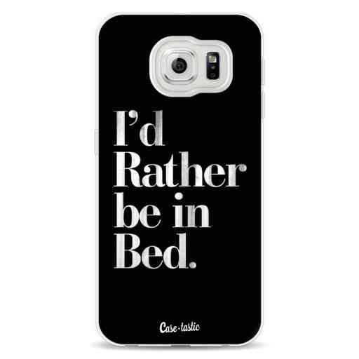 Casetastic Softcover Samsung Galaxy S6  - Rather Be In Bed